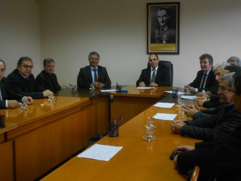 Yapı Denetim Kuruluşları Birliği ilimizi ziyaret etti.