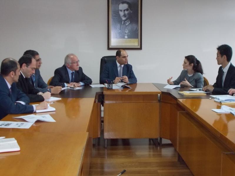 """JICA Türkiye Ofisi ile """"Afet Önleme ve Yönetim Projesi"""" ile ilgili olarak bir toplantı düzenlendi."""