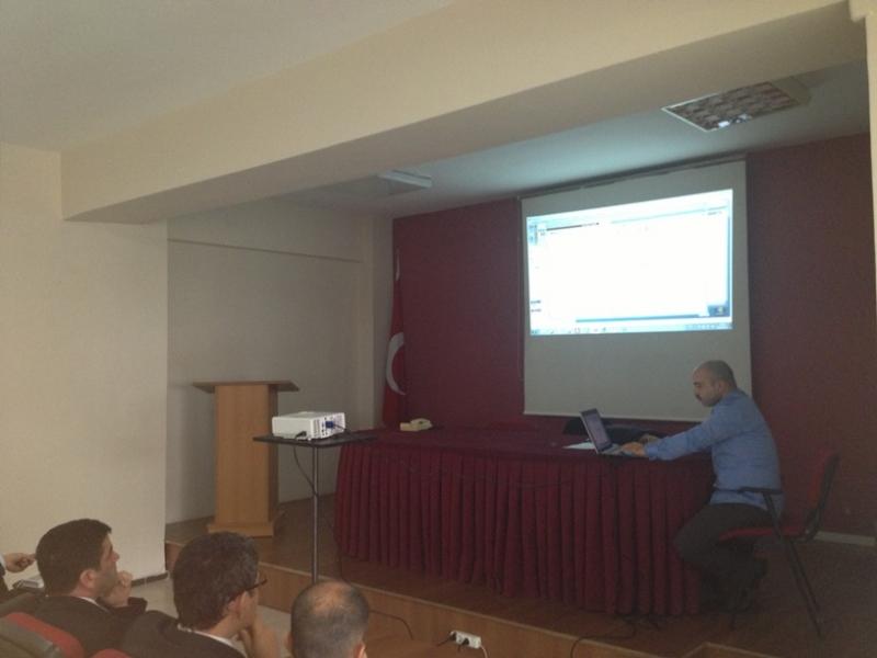 Oska e-hakedişCAD programının eğitimi düzenlenmiştir.