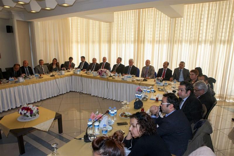 DSİ 14. (İstanbul) Bölge Müdürlüğü'nde Marmara Havzası Havza Yönetim Heyeti Toplantısı Gerçekleştirildi