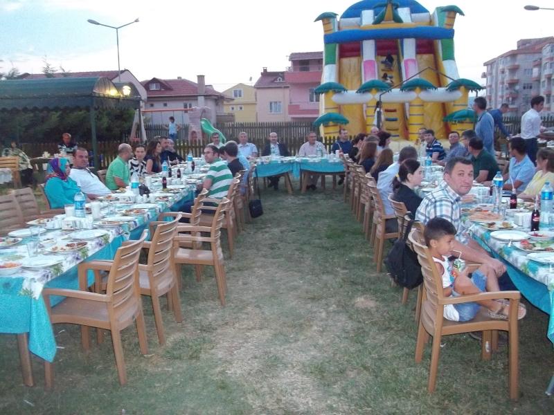 İl Müdürlüğümüz tarafından organizasyonu yapılan iftar programı