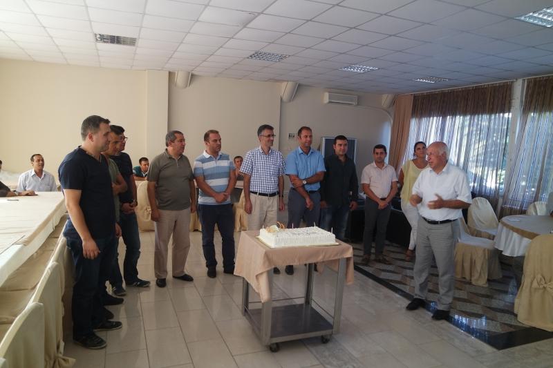 Ağustos Ayında Doğum Günü Olan Personelin Doğum Günleri Müdürlüğümüz Sosyal Tesislerinde Personelin Katılımıyla Kutlandı
