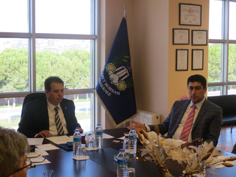 Çanakkale Ticaret Borsası Zeytin ve Zeytinyağı Sektör Kurulu Toplantısı'nda Sektörün Sorunları Masaya Yatırıldı