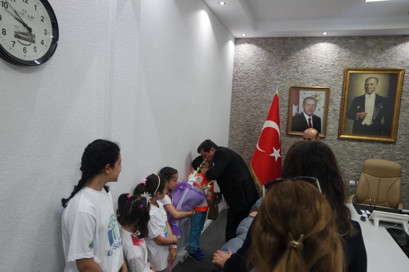 5 Haziran Dünya Çevre Günü ve Haftası Kapsamında Çanakkale Valisi Orhan TAVLI Ziyaret Edildi.