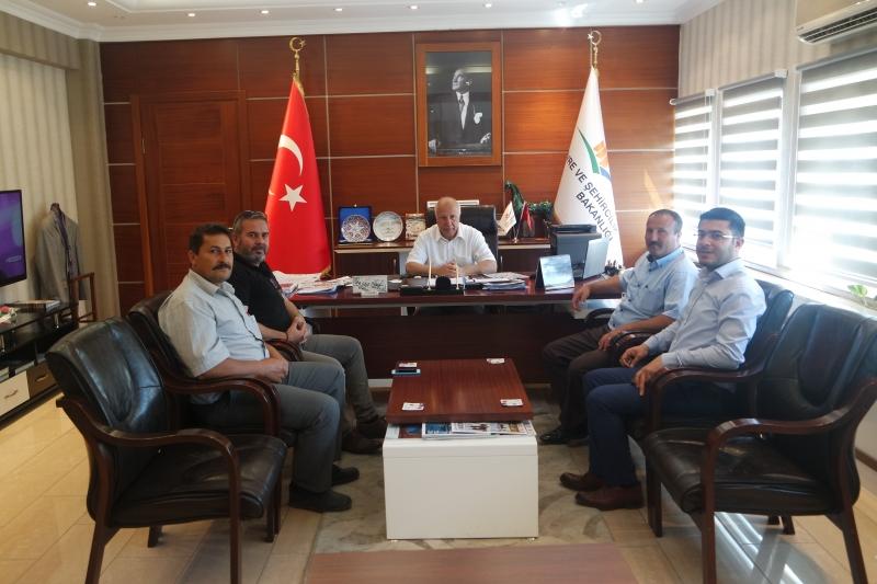 Tuzla Köyü, Kösedere Köyü ve Naldöken Köyü Muhtarları İl Müdürümüzü Ziyaret Ettiler.