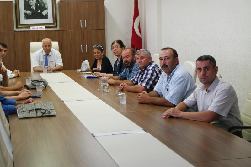 Bayramiç Belediyesi Mücavir Alan Teklifine İlişkin Toplantı