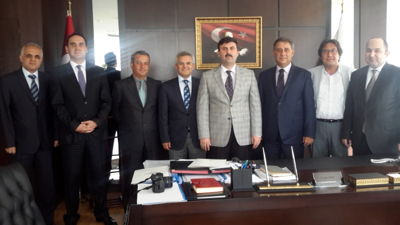 Chamber of Survey and Cadastre Engineers Visited Our General Directorate