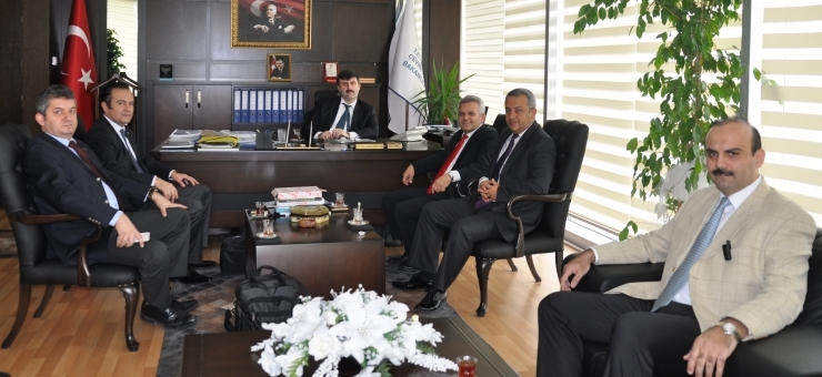 Chamber of Survey and Cadastre Engineers Has Paid a Visit to Our General Directorate