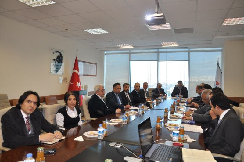 The Opening Meeting Between Our Ministry and Bitlis Eren University Was Held on 28.11.2014
