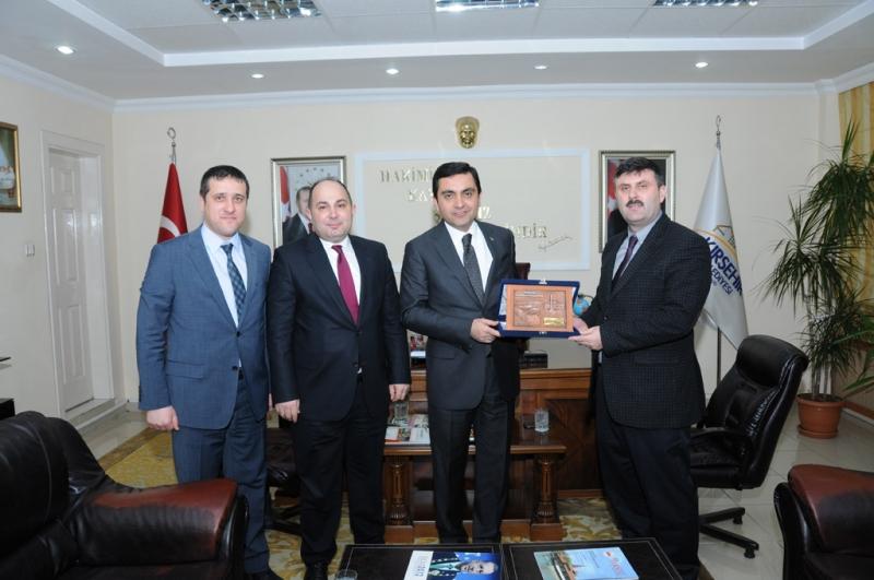 General Director of GIS Bekir TÜZEL Has Visited The Governor of Kırşehir Necati ŞENTÜRK and Mayor of Kırşehir Yaşar BAHÇECİ