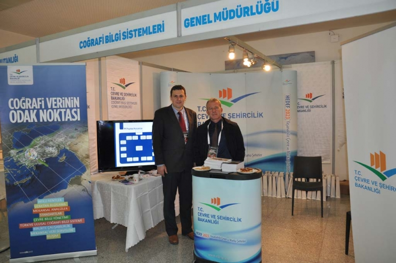 Participation Was Ensured to The 15 th Turkey Scientific and Technical Council of Mapping