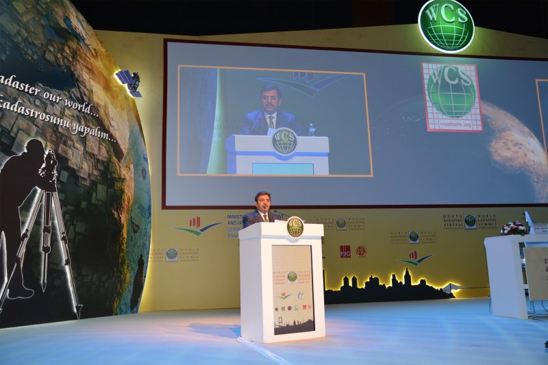 Our General Directorate Has Taken Part In World Cadastrate Summit