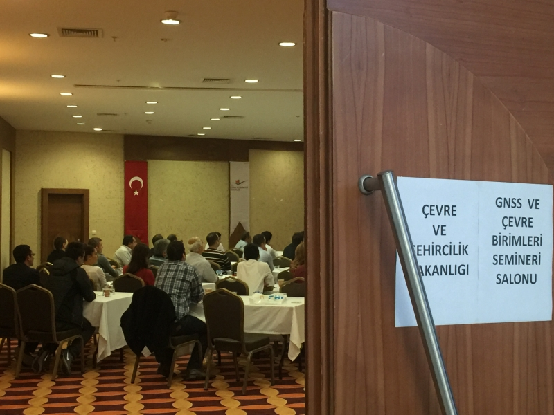 General Directorate of Geographic Information Systems  GNSS & GNSS Equipments Training was held in Antalya between November 9 - 11 2015