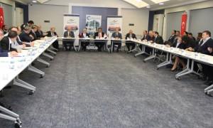 Ergene Havzasında Arıtma Çamuru Yönetimi Toplantısı Tekirdağ'da gerçekleştirildi.