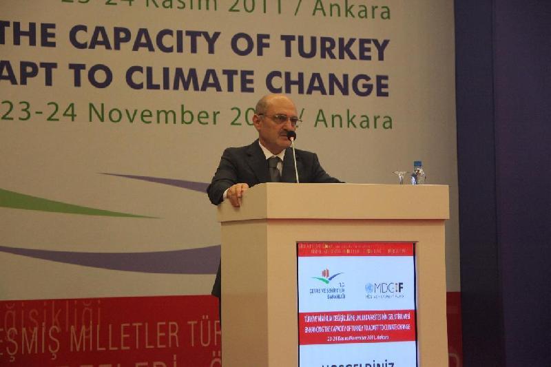 Türkiye'nin İklim Değişikliğine Uyum Kapasitesinin Geliştirilmesi Projesi tamamlandı
