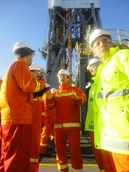 Genel Müdürümüz Sürmene-I Petrol Arama Platformunda incelemelerde bulundu