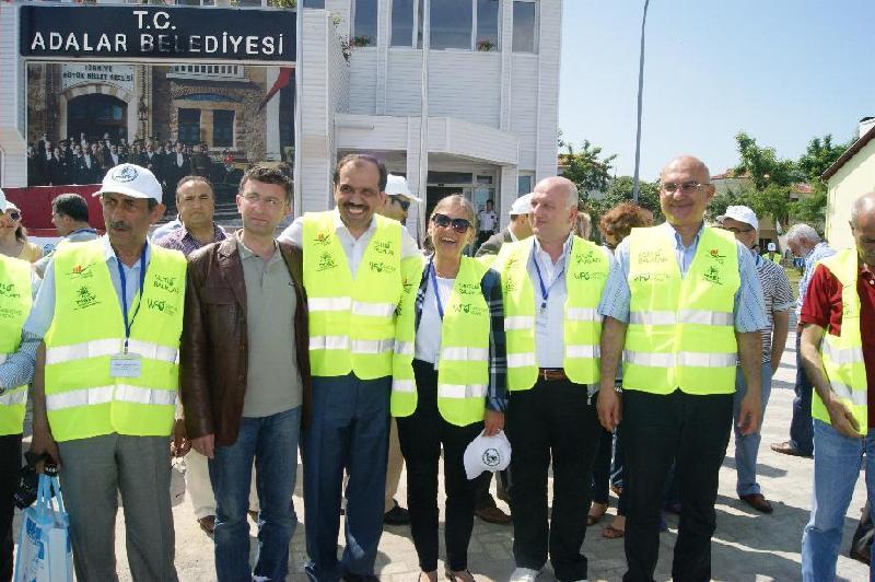 Marmara`da ağlar Temiz Deniz için atıldı