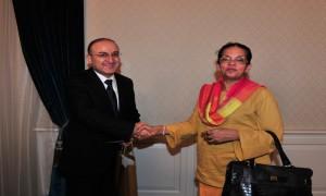Sri Lanka Büyükelçisinin Sayın Müsteşarımızı Ziyareti