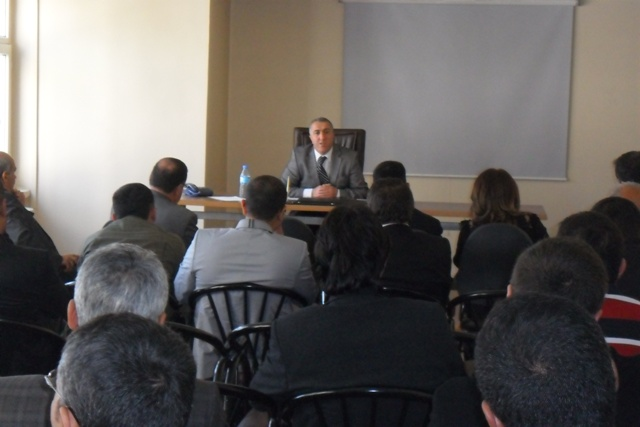 Beton Santralleri Yetkilileri ile Değerlendirme Toplantısı Yapıldı.