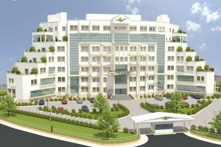 Diyarbakır Çevre ve Şehircilik İl Müdürlüğü Hizmet Binası Yapım İşi