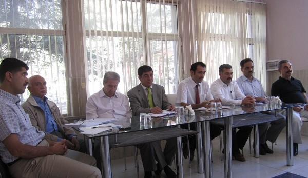 Afet Konutlarında Görevli Teknik Personelle Toplantı Yapıldı
