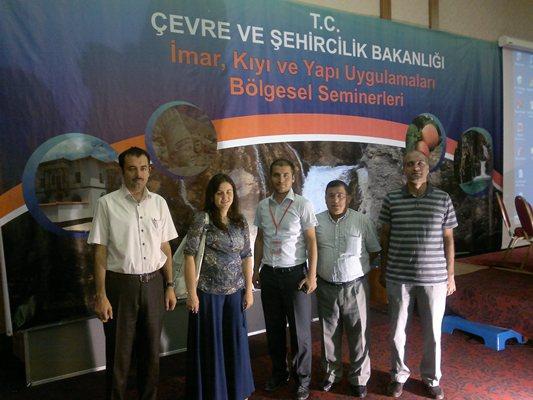 Güneydoğu Anadolu İmar, Kıyı ve Yapı Uygulamaları Bölgesel Semineri