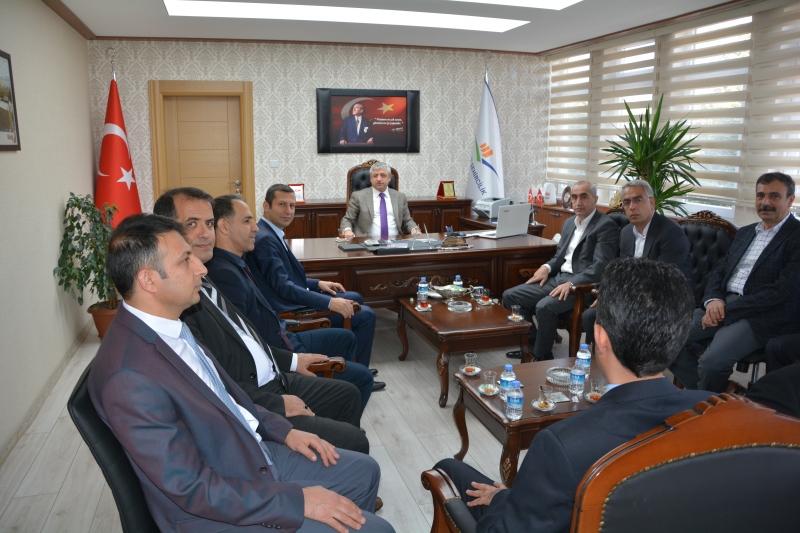 Bayındır Memur-Sen Genel Başkanı Soner Can TUFANOĞLU  İl Müdürlüğümüzü Ziyaret etti.
