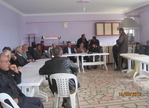 Maden-Gezin-Kartaldere ve Cumhuriyet Köylerinde İskan Bilgilendirme Toplantısı Yapıldı.