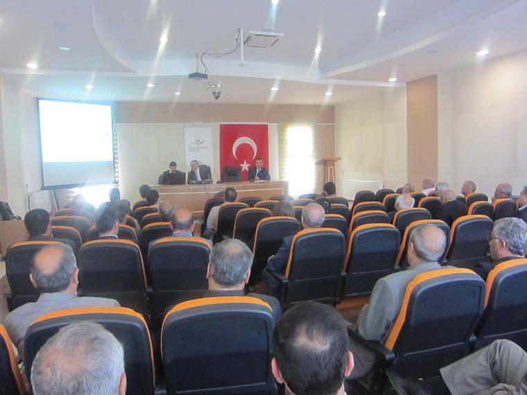 TS EN ISO 9001:2008 Kalite Yönetim Sistemi kurum içi bilgilendirme eğitimi yapıldı.