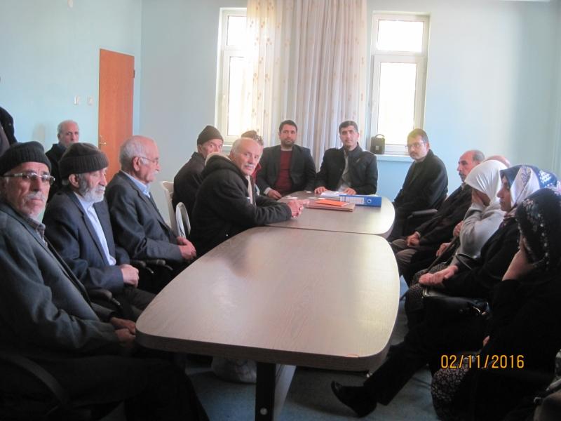 Elazığ-Gezin köyü hak sahipliği çalışması tamamlandı.