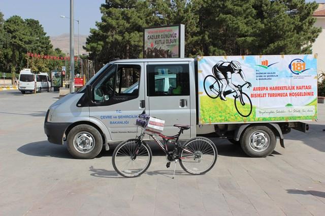 Avrupa Hareketlilik Haftası Bisiklet Turu