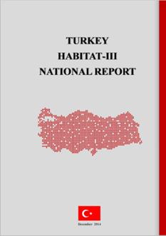 TÜRKİYE HABITAT III'E HAZIRLANIYOR