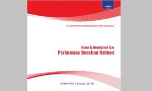 Kamu İç Denetçileri için Performans Denetimi Rehberi yayımlanmıştır.