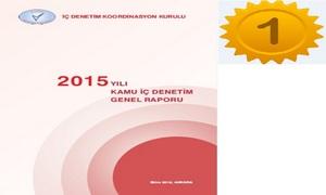 2015 Yılı Kamu İç Denetim Genel Raporu Yayımlanmıştır.
