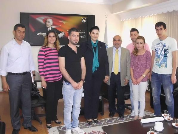 Iğdır Üniversitesi Çevre Kulubü İl Müdürlüğümüzü ziyaret etti.