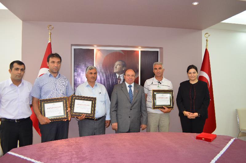 Temiz köyüm Yarışmasıyla belirlenen ödüller dağıtıldı.