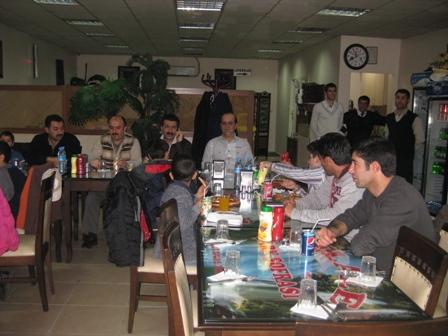 Müdürlüğümüz Çalışanları ve İdarecileri Yetiştirme yurdu öğrencileri ile hafta sonu yemekte buluştu