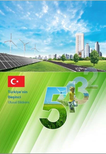 İklim Değişikliği 5.Ulusal Bildirimi BMİDÇS Sekretaryasına Sunuldu.