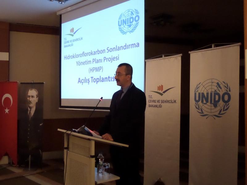 Hidrokloroflorokarbon Sonlandırma Yönetim Planı Proje Açılış Toplantısı İstanbul'da gerçekleştirildi.
