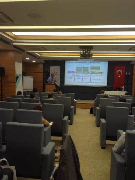 Ozon Tabakasını İncelten Maddelerin ve Florlu Sera Gazlarının Çevre Dostu Alternatiflerine ilişkin toplantılar İstanbul'da gerçekleştirildi.