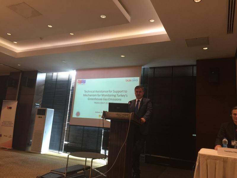 Türkiye'nin Sera Gazı Emisyonlarının İzlenmesi Mekanizmasına Destek için Teknik Yardım Projesi Açılış Töreni Gerçekleştirildi.