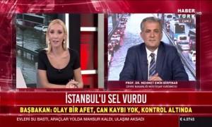 Müsteşar Yardımcısı ve İklim Değişikliği Başmüzakerecisi Birpınar İstanbul'daki Şiddetli Yağışı Değerlendirdi: