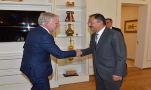 Bakan Özhaseki Almanya Çevre, Doğa Koruma, İmar Ve Reaktör Güvenliği Müsteşarı Flasbarth'ı Ağırladı