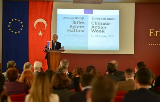 Bakan Yardımcısı Ceylan İklim Eylem Haftasının Açılışını Gerçekleştirdi