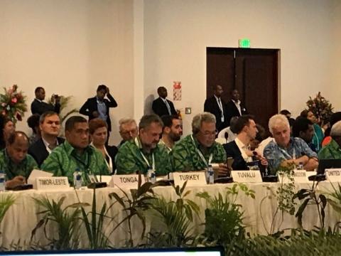 Müsteşar Yardımcısı Birpınar İklim Zirvesi Hazırlık Toplantısına Katıldı