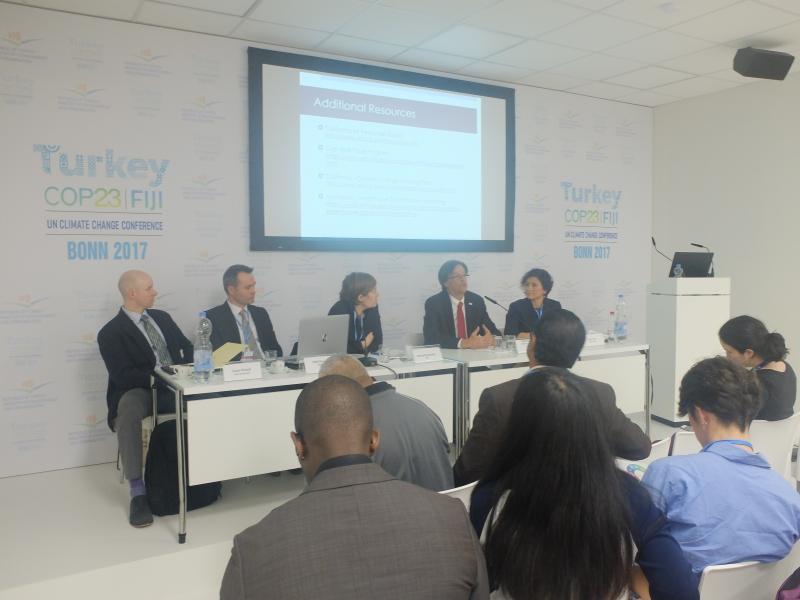 Karbon Piyasalarına Hazırlık Ortaklığı (PMR) Projesi COP 23 Etkinlikleri