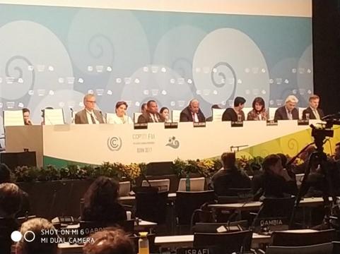 Müsteşar Yardımcısı Birpınar COP 23 Kapanış Toplantısında Konuştu