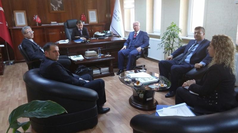 İç Kontrol ve Kalite Yönetim Sistemi Çalışmaları Kapsamında Trabzon ve Rize Çevre ve Şehircilik İl Müdürlüklerimiz…