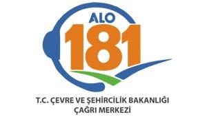 T.C. Çevre ve Şehircilik Bakanlığı Alo 181 Çevre ve Şehircilik