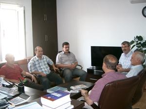 Çevre ve Şehircilik İl Müdürlüğü'nü Karaman Millet Vekili Av. Mevlüt AKGÜN'ün ziyareti